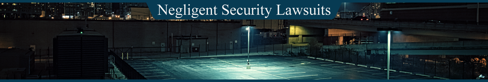 Negligent Security Lawsuit The Peña Law Firm Miami